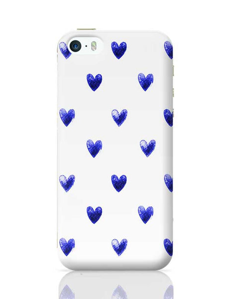 Blue Heart iPhone 5/5S Covers Cases Online India