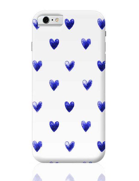 Blue Heart iPhone 6 6S Covers Cases Online India