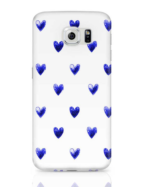 Blue Heart Samsung Galaxy S6 Covers Cases Online India