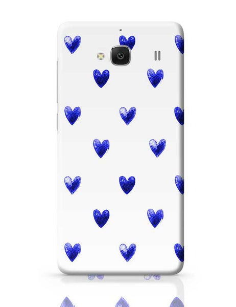 Blue Heart Redmi 2 / Redmi 2 Prime Covers Cases Online India