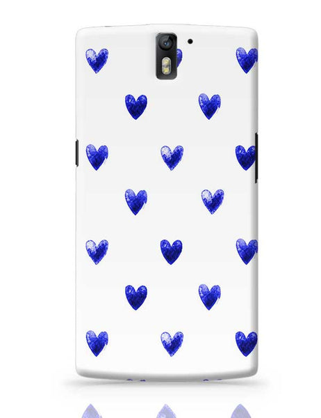 Blue Heart OnePlus One Covers Cases Online India