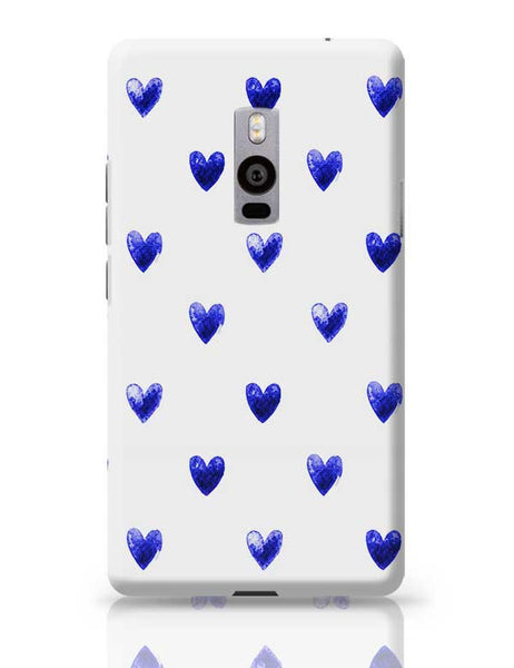 Blue Heart OnePlus Two Covers Cases Online India