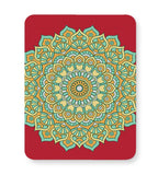 Boho design with red background Mousepad Online India