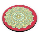 Boho design with red background Fridge Magnet Online India