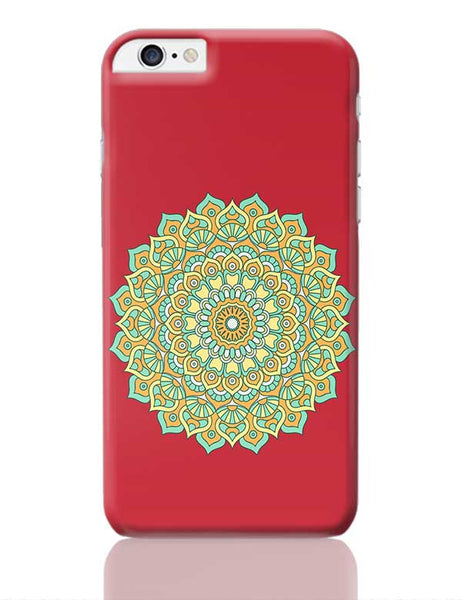 Boho design with red background iPhone 6 Plus / 6S Plus Covers Cases Online India