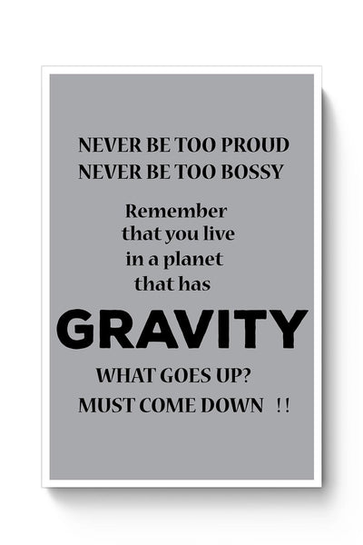 Gravity Poster Online India