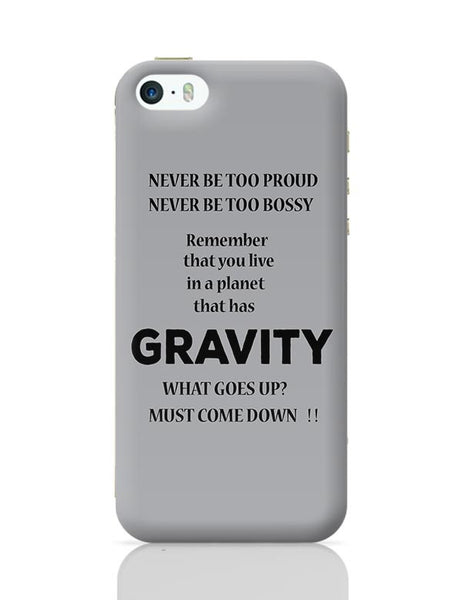 Gravity iPhone 5/5S Covers Cases Online India