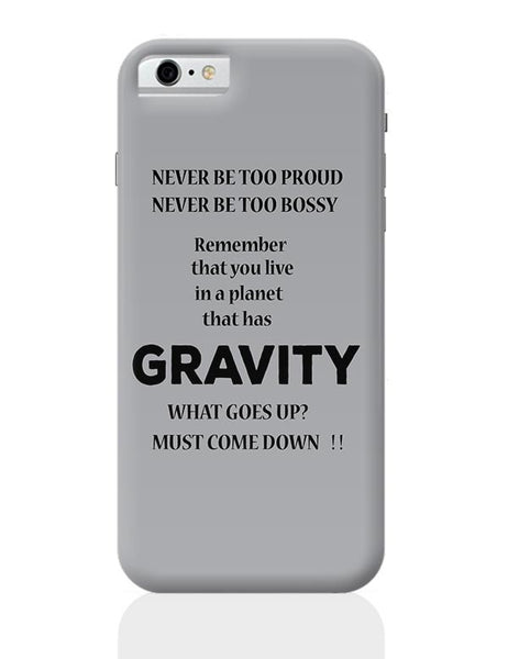 Gravity iPhone 6 6S Covers Cases Online India