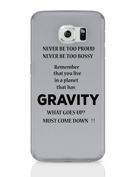 Gravity Samsung Galaxy S6 Covers Cases Online India