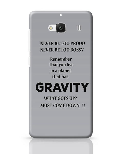 Gravity Redmi 2 / Redmi 2 Prime Covers Cases Online India