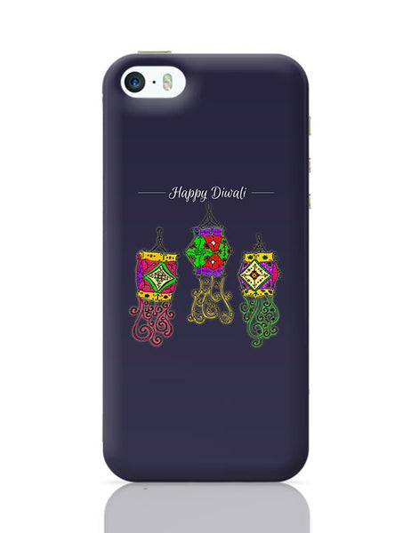 Hand Drawn Decorative Colored Lanterns iPhone 5/5S Covers Cases Online India