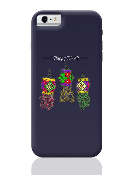 Hand Drawn Decorative Colored Lanterns iPhone 6 6S Covers Cases Online India