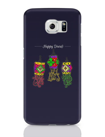 Hand Drawn Decorative Colored Lanterns Samsung Galaxy S6 Covers Cases Online India