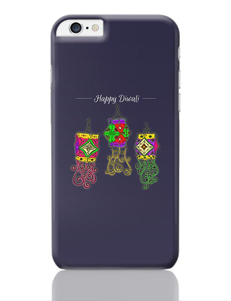 Hand Drawn Decorative Colored Lanterns iPhone 6 Plus / 6S Plus Covers Cases Online India