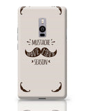 Mustache November Season OnePlus Two Covers Cases Online India