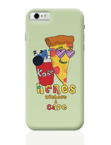 Food, Pizza, Coke, Fastfood iPhone 6 / 6S Covers Cases