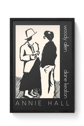 Annie Hall Love Framed Poster Online India