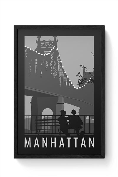 Manhattan Framed Poster Online India