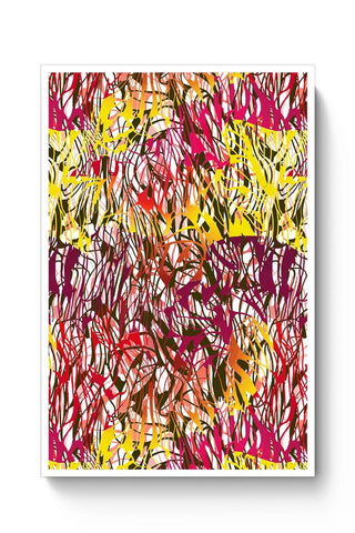 Buy Colorful Interlaced Poster