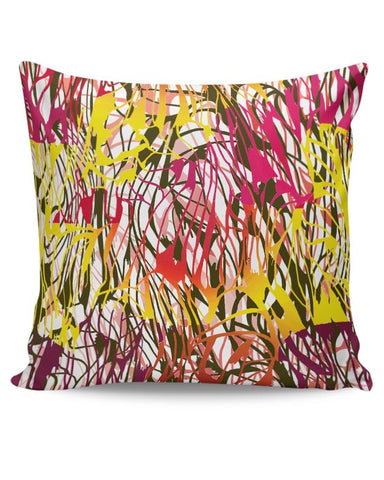 Colorful Interlaced Cushion Cover Online India