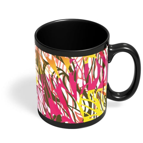Colorful Interlaced Black Coffee Mug Online India
