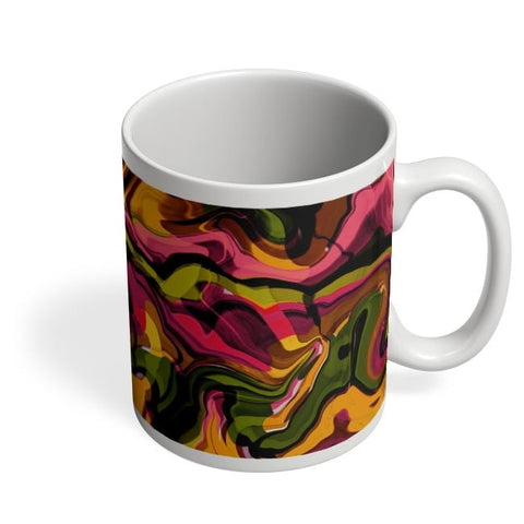 Abstract Marble Coffee Mug Online India