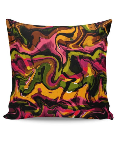 Abstract Marble Cushion Cover Online India