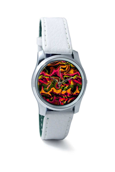Women Wrist Watch India | Abstract Marble Wrist Watch Online India