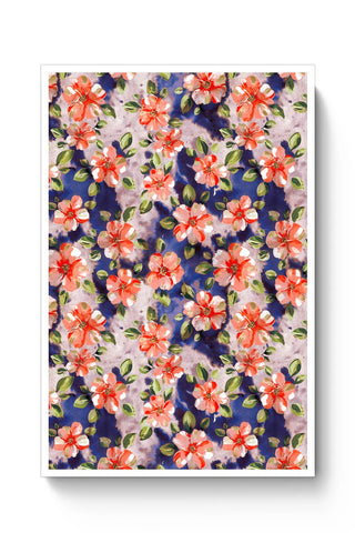 Buy Washed Out Floral Poster