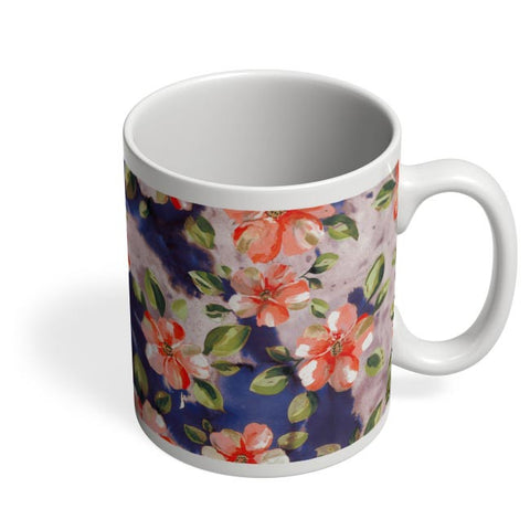 Washed Out Floral Coffee Mug Online India