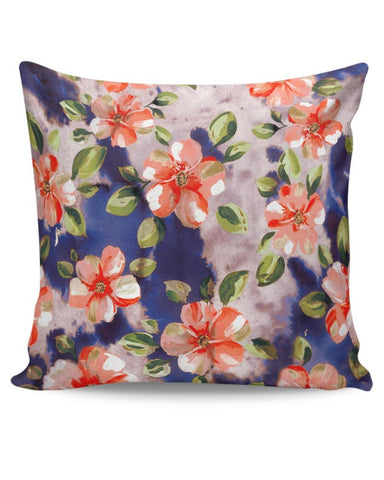 Washed Out Floral Cushion Cover Online India