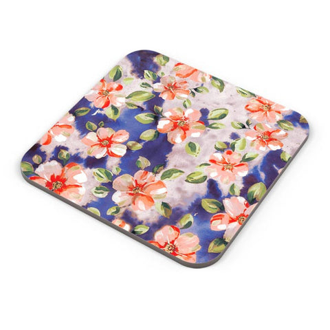 Washed Out Floral Coaster Online India
