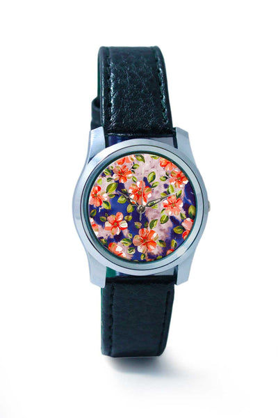 Women Wrist Watch India | Washed Out Floral Wrist Watch Online India