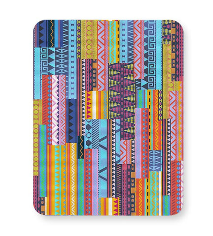 Irregular Aztec Blocks Mousepad Online India