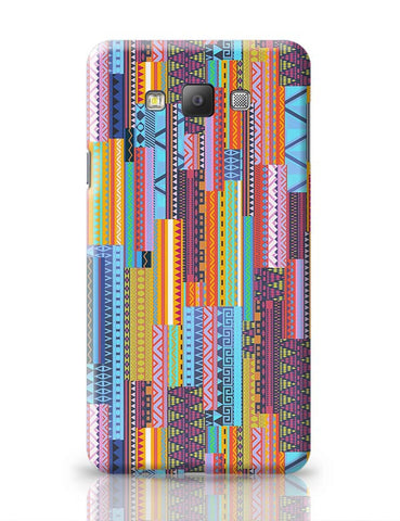 Irregular Aztec Blocks Samsung Galaxy A7 Covers Cases Online India