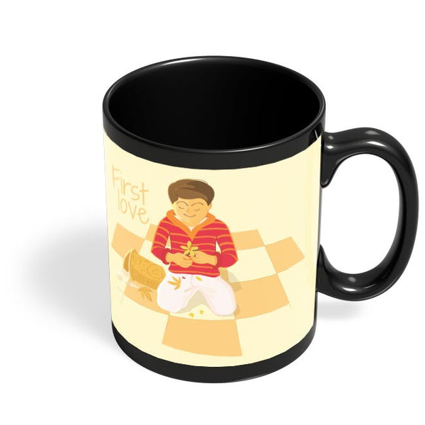 Vinod Yande Black Coffee Mug Online India