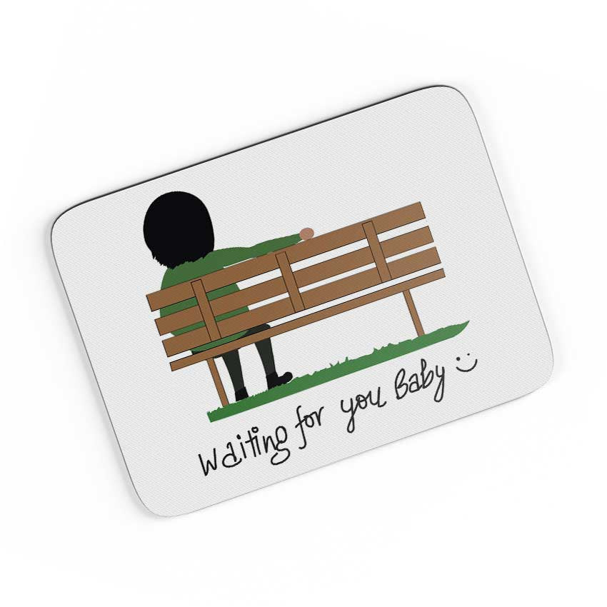 Buy Waiting For You Baby A4 Mousepad Online India Posterguy