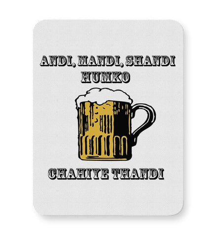 Beer,Beer Mug,Mug, Rum, Illustration Mousepad Online India
