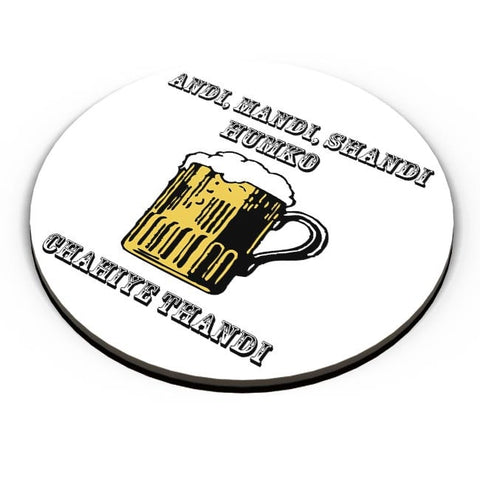 Beer,Beer Mug,Mug, Rum, Illustration Fridge Magnet Online India
