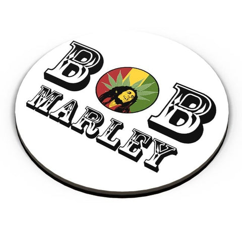 Bob, Bob Marley, Cannabis Leaf, Ganja, Music, Rock Fridge Magnet Online India