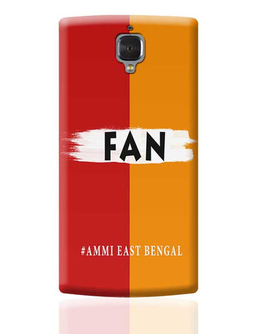 FAN East Bengal FC #Ammi East Bengal OnePlus 3 Covers Cases Online India
