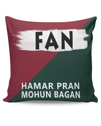 Fan  Mohun Bagan AC (Hamar Pran Mohun Bagan) Cushion Cover Online India