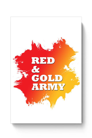 Red And Gold Army East Bengal FC Poster Online India