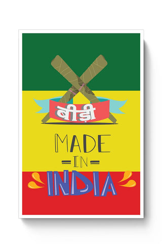 Buy Indian Bidi  Poster