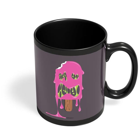 ice cream zombie Black Coffee Mug Online India