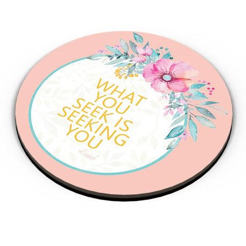 flowers,pink,quotes, rumi, thoughts, cute, floral, print, colourful, love, deep, spiritual, sufi Fridge Magnet Online India