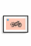 Buy PANJMINT Glass Framed Poster