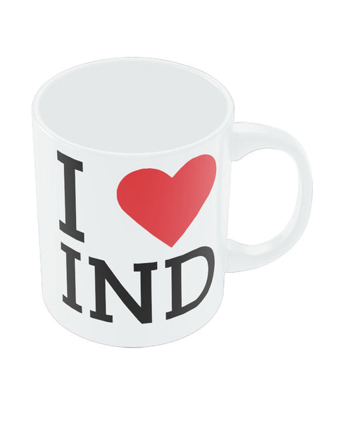 PosterGuy India IND White Coffee Ceramic Mug