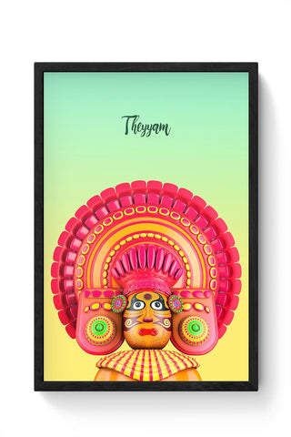 Theyyam Framed Poster Online India