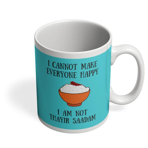 Happiness = Thayir Saadam Coffee Mug Online India